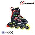 Made in china de buena material de alto nivel zapatillas de skate con rueda