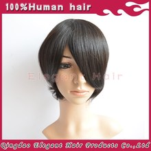 High Quality 100% Human Remy hair PU injection Toupee