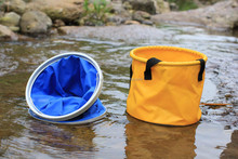 outdoor portable and durable PVC water barrel / cylindrical container