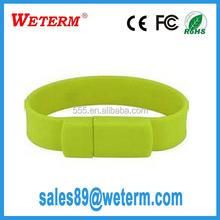 Custom Logo silicone 16gb usb stick logo cooperation gifts