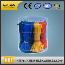 smooth application self- adhesive colored insulate well velcro cable tie