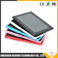 Bulk Wholesale 7 Inch Allwinner A33 1024*600 8GB ROM Android Tablet PC , Android Tablet Without Sim Card