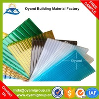 Enviromental low price impact resistance uv coating pc sheet for sound insulation
