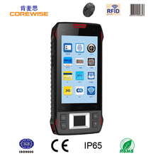 Supermarket smart tablet pc 13.56mhz rfid reader terminal pda, warehouse management terminal with laser barcode scanner android