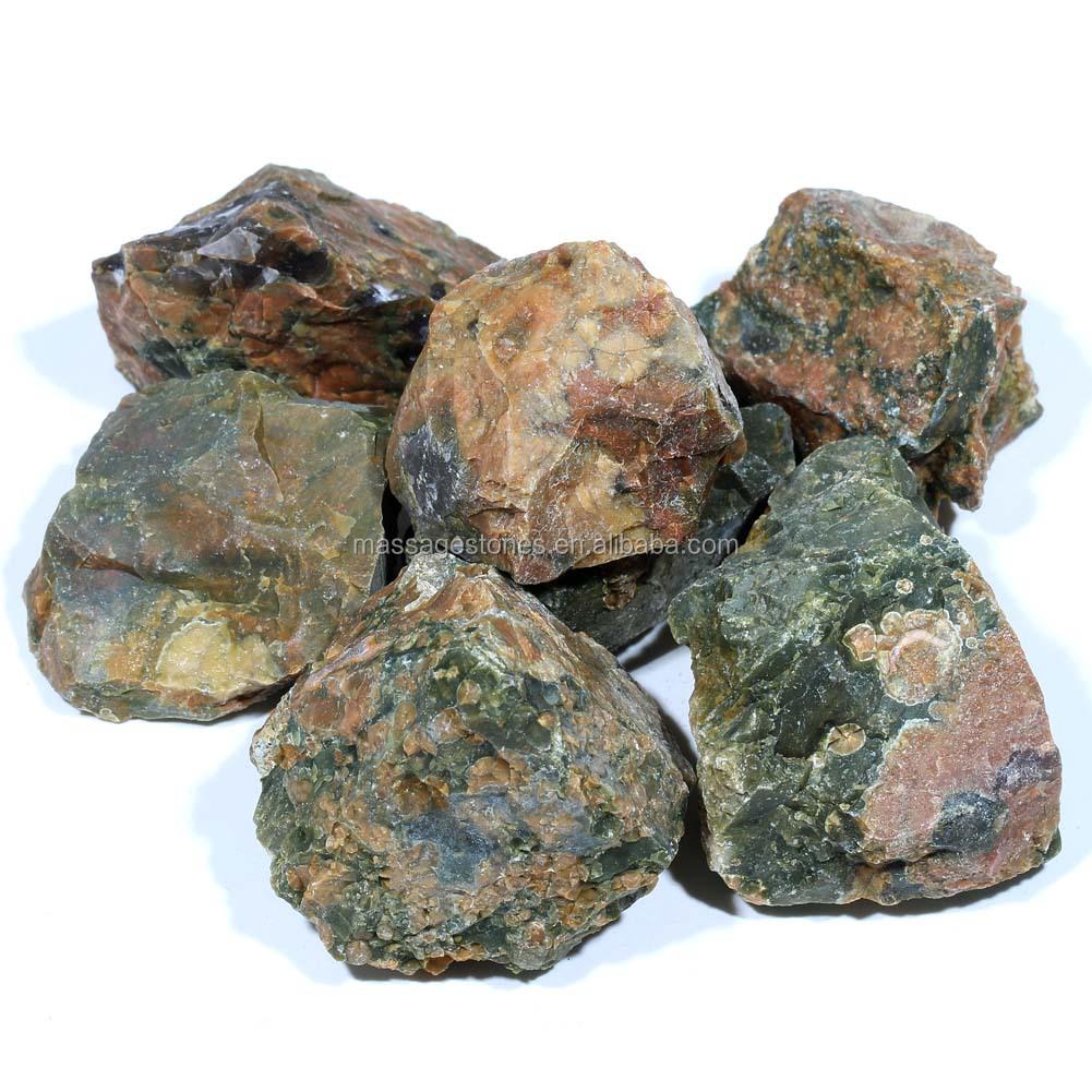 Souvent Gros naturel Ryolite pierre polie , pierre précieuse brute  DU06