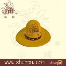 wholesale yellow felt winter hats