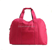 freedom simple cheap duffle bag luggage foldable nylon duffle bag