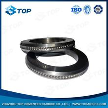 Best selling pr6.0 125x82x15mm tungsten carbide rolls for forming smooth steel wires with great price