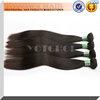 "18"" silky straight Natural black wholesale virgin malaysian hair"