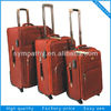 100% Polyester Luggage Trolley Case With Wheels