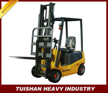 professional construction machinery mini electric forklift truck with lifting motor power is 2.0kw