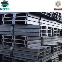 channel steel bar standard size galvanized c channel pipe h channel