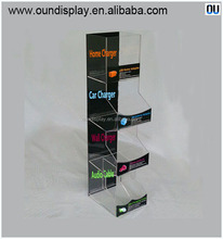 colorful power bank charger display stand hot sale on cellphone accessory shop