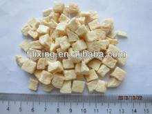 100% natural taste Freeze dried apple dice5*5*5mm in bulk/vacuum package