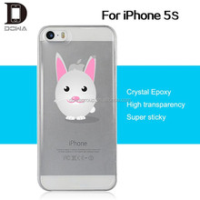 Free sample epoxy skin case for iphone 5s gel case