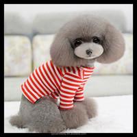 Pet accessories Pet dog stripe sweatshirts