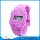 moda de alta qualidade relógio de silicone digitais