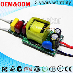 BIS is pending 7w high pf isolated Constant Current LED Driver 350mA 13-30V output internal led driver