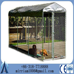 cheapest price dog kennel cage stainless steel/foldable dog cage/dog cage