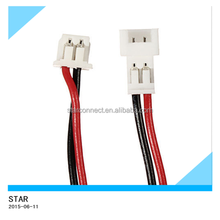 High quality auto electric 2 pin JST connector wiring harness