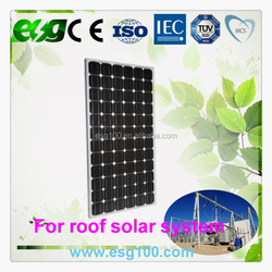 Green Energy 250W Monocrystalline silicon Solar Panel
