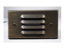 MR16 outdoor brass wall light