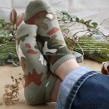 cheap young man fashion camo design sublimation printing socks