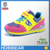 HOBIBEAR fashion brand online footwear trainers child casual sneakers