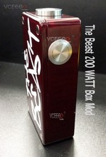 2014 New arrival wholesales The Beast Box Mod reach 200w in stock