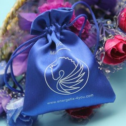 Wholesale New Products Drawstring Silk Ribbon Tie Gift brocade Bags