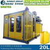 high quality extrusion blow molding machine