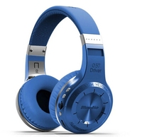 Original Bluedio H Plus Stereo Music Bluetooth 4.1 Headset Wireless Noise Cancelling Support FM and TF Card Headphones
