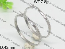 With outstanding customer service stainless steel earring with stone