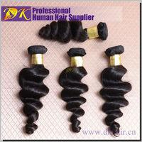 DK Hair Products Brazilian Virgin Hair Loose Wave 24 26 28 30'' 4pcs/set Grade 6A 100% Unprocessed Remy Hair