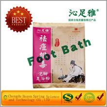 balneario del pie del detox productos cuidado en casa