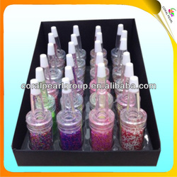 2-color Mixed Fine Glitter Powder in Bottles
