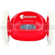 running kids clock, children's alarm clock cartoon alarm clock
