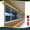 Used Commercial Glass Windows With Impacted Glass/Double panel Glass/Triple Glazing For Aluminum Commercial Window Frames