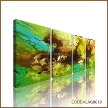 Four groups of Popular oil painting abstract