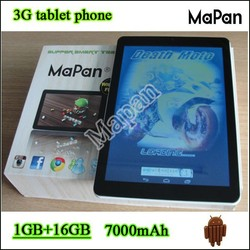 "hot selling mtk8382 cell phone 1.3ghz quad core tablet 9.7 inch/ newest MaPan model 9.7"" tablet with sim card slot"