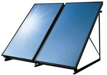Low price swimming pool build flat plate solar collector