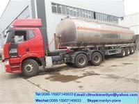 5000l fuel tank crude oil tanker second hand fuel tanker trailer