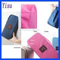 hot sale clothes zipper canvas travel storage pouch bra underwear bag