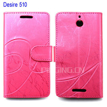 for HTC desire 510 case, wallet leather flip cover case for HTC desire 510