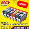 Bulk ink cartridge for canon pgi 225 cli 226 ink cartridge