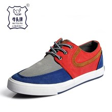 Trade Assurance Stock Sneaker Wholesale Casual Men Canvas Shoes
