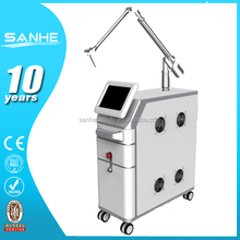 2015 newest tattoo removal equipment with CE approved / Q-Swtiched nd yag peeling mode nd yag laser ophthalmic yag laser