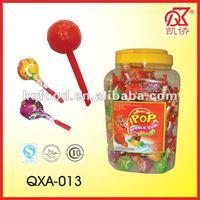 21g Halal Whistle Lollipop With Bubble Gum