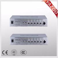 YAZOO AV-900 60W*2 cheap professional karaoke amplifier/mini home amplifier with USB/SD