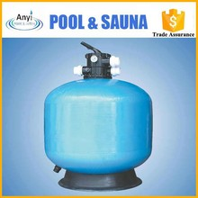 2012 new design pool top mount sand filter with sand or carbon